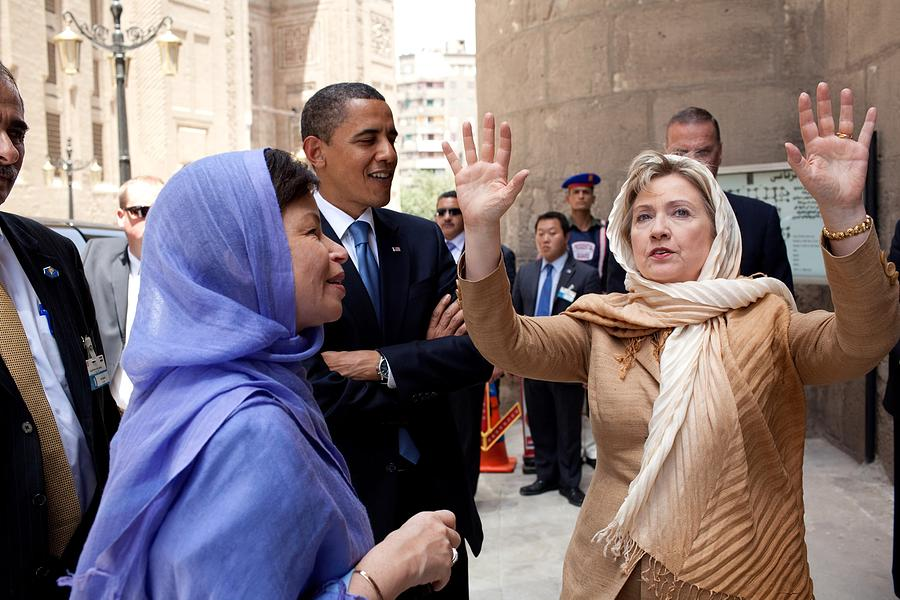 History Photograph - Secretary Of State Hillary Clinton by Everett