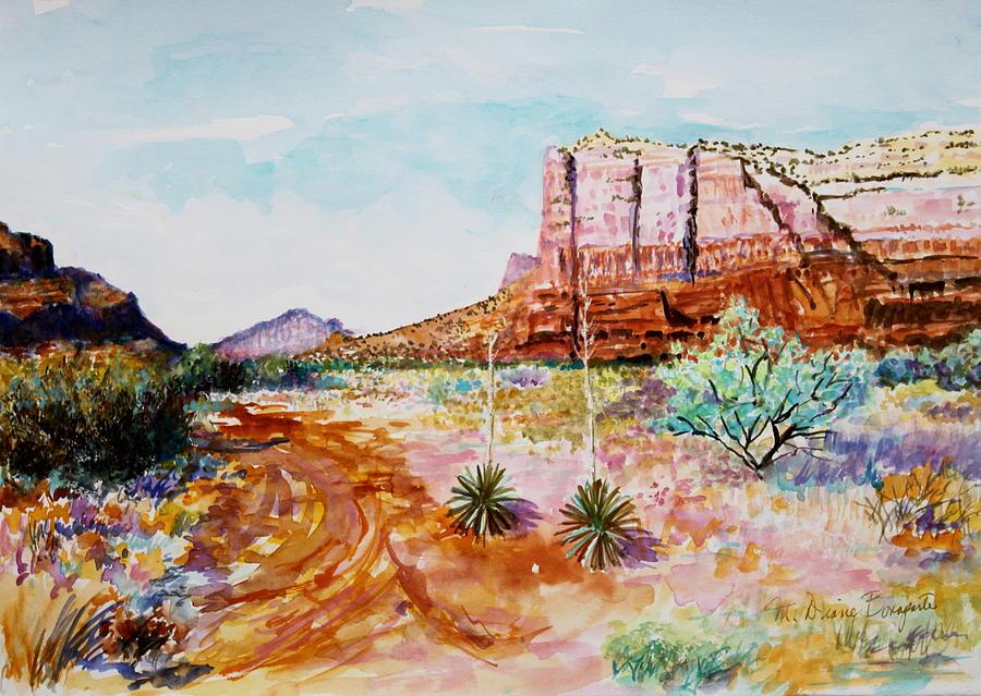 Sedona Bound Painting