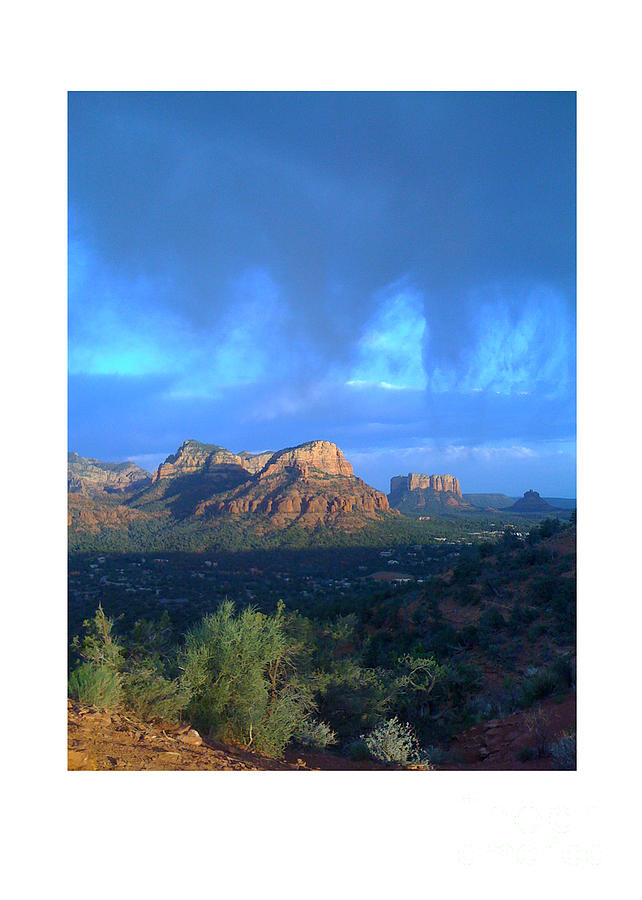 Sedona Clouds Photograph
