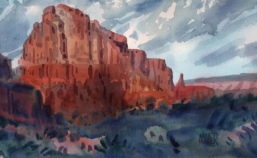 Sedona Redrock Painting