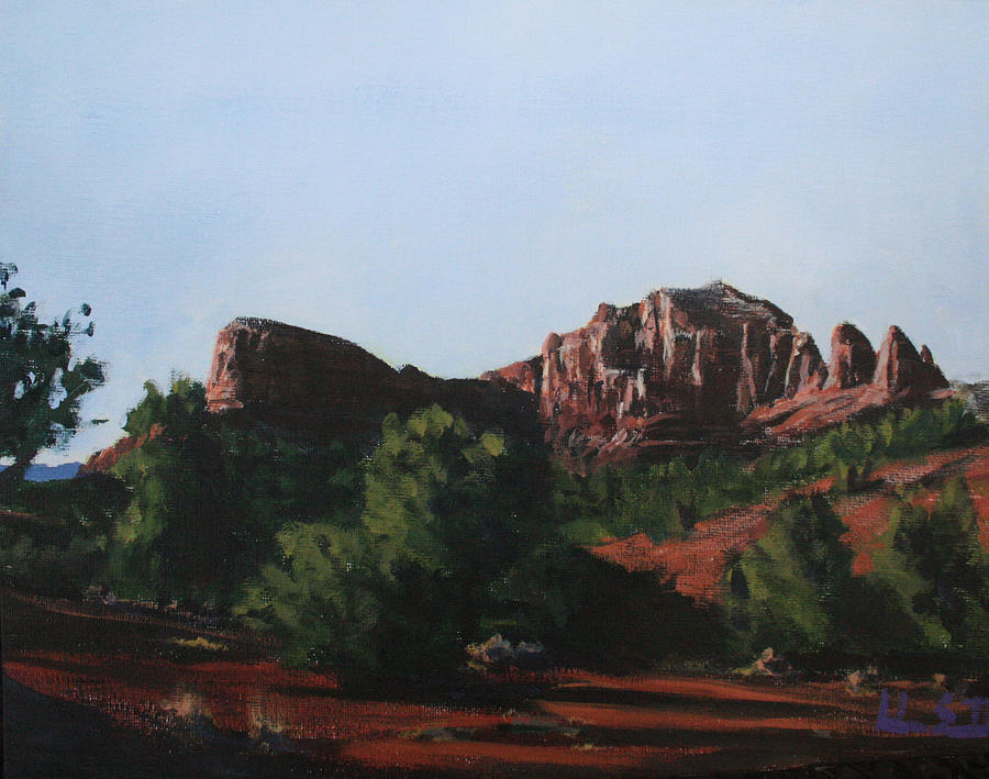 Sedona Summer Painting  - Sedona Summer Fine Art Print
