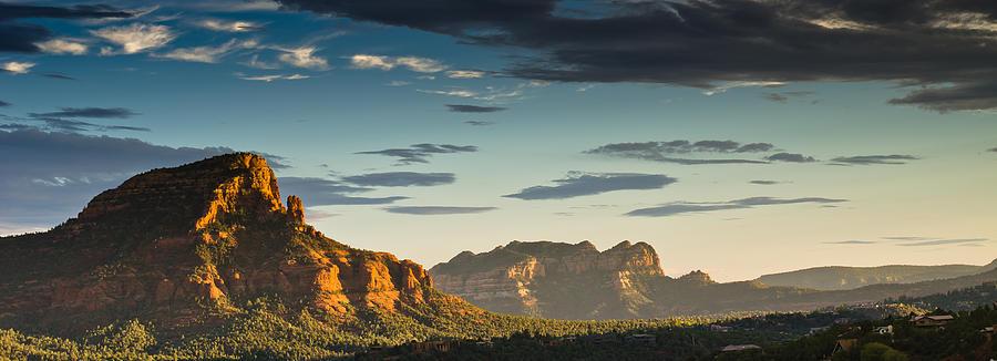 Sedona Photograph - Sedona Sunset by Scott Faunce