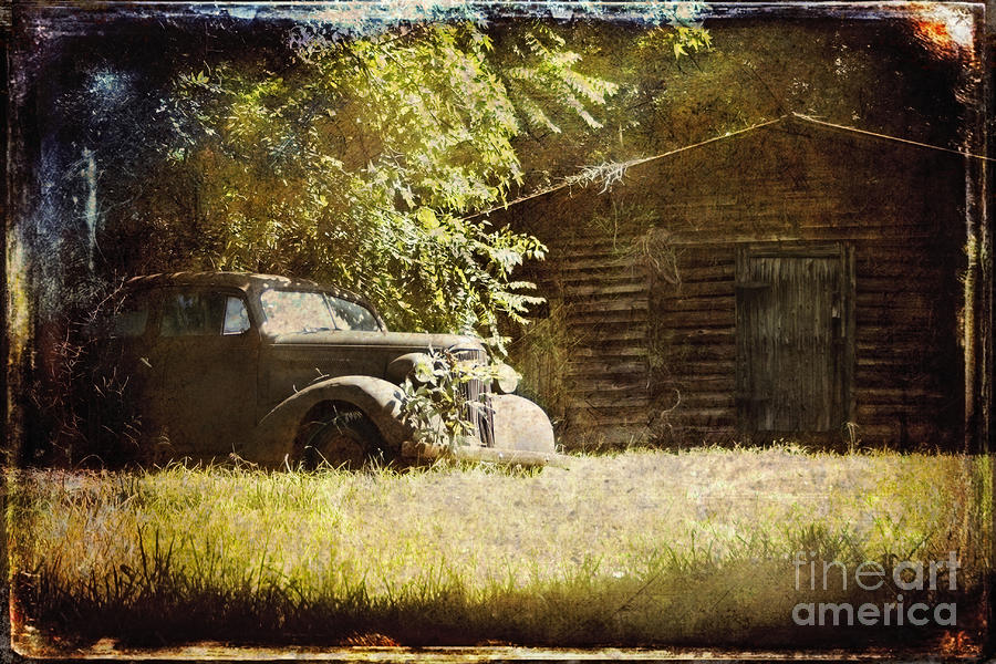 Old Photograph - Seen Better Days by Sari Sauls