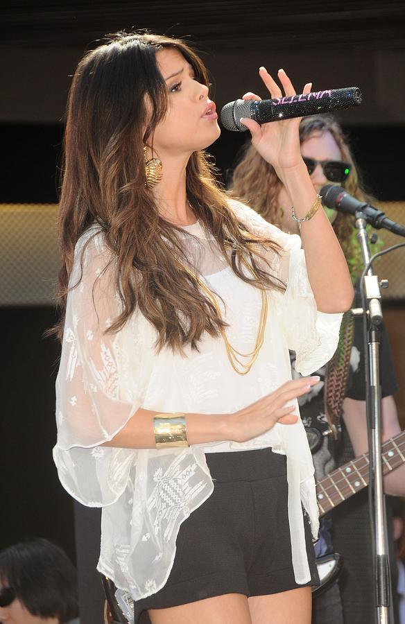 Selena Gomez At A Public Appearance Photograph