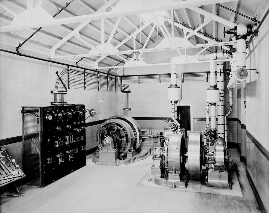 Self-contained Electric Power Station Photograph