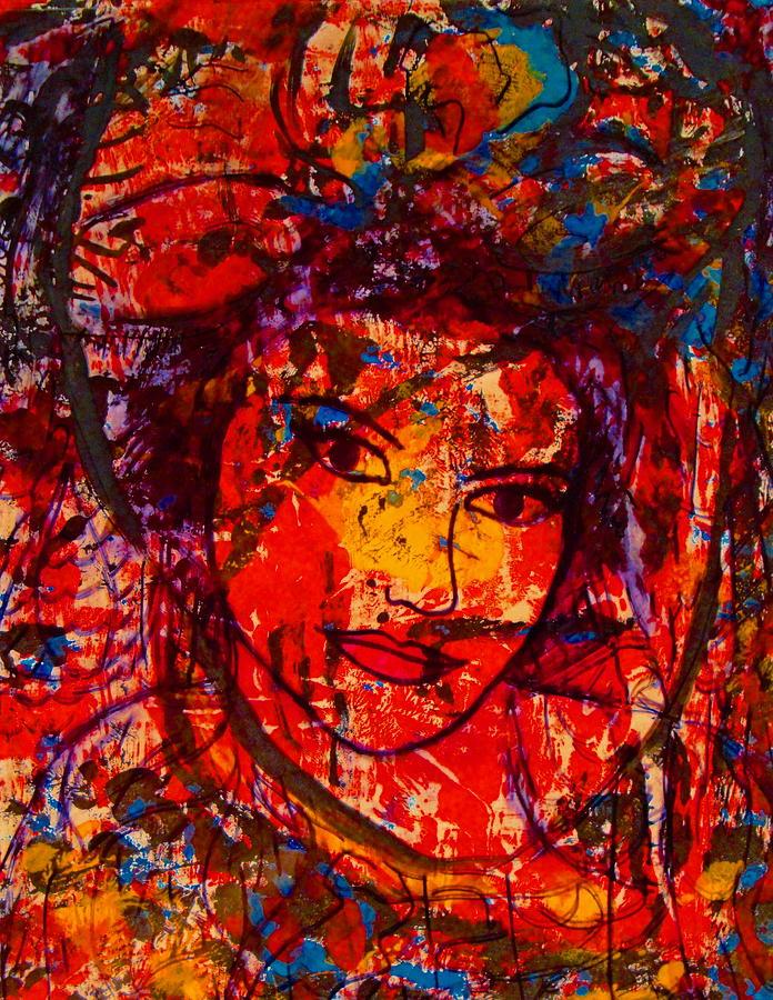 Self-portrait-5 Painting