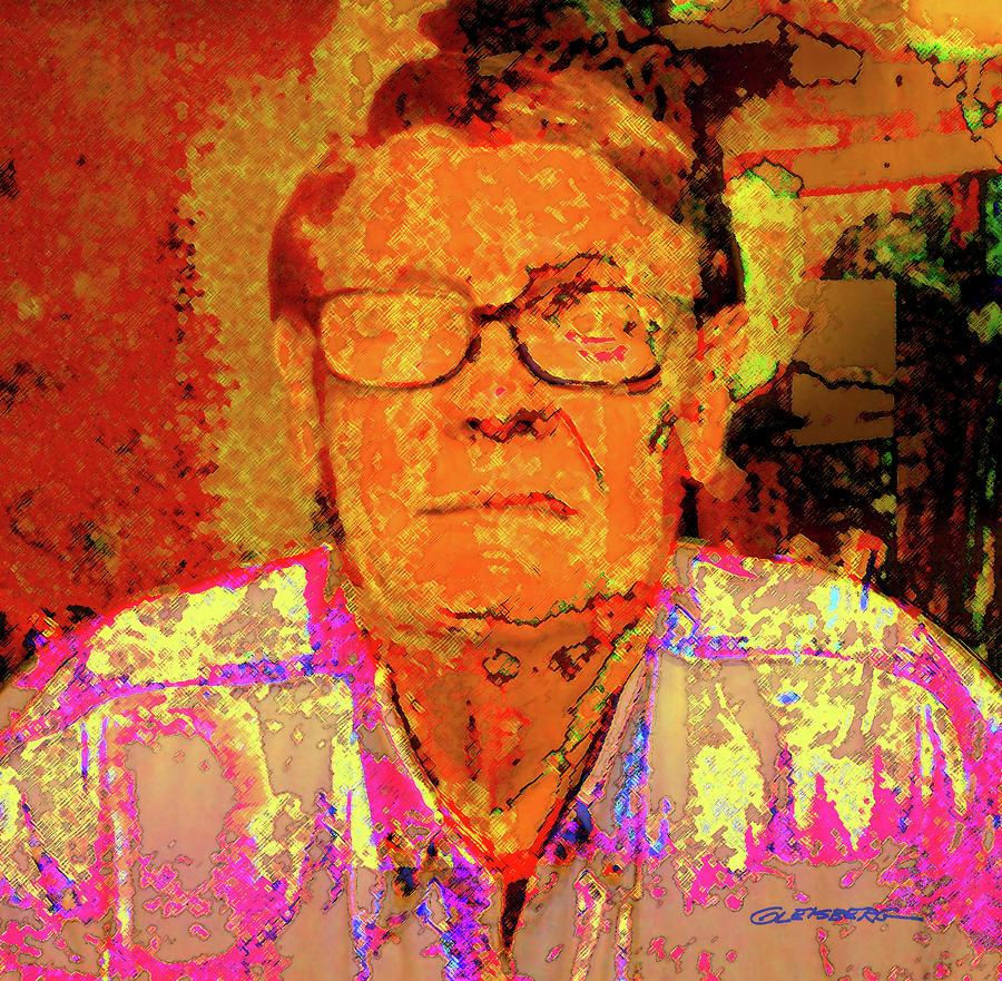 Self-portrait Digital Art