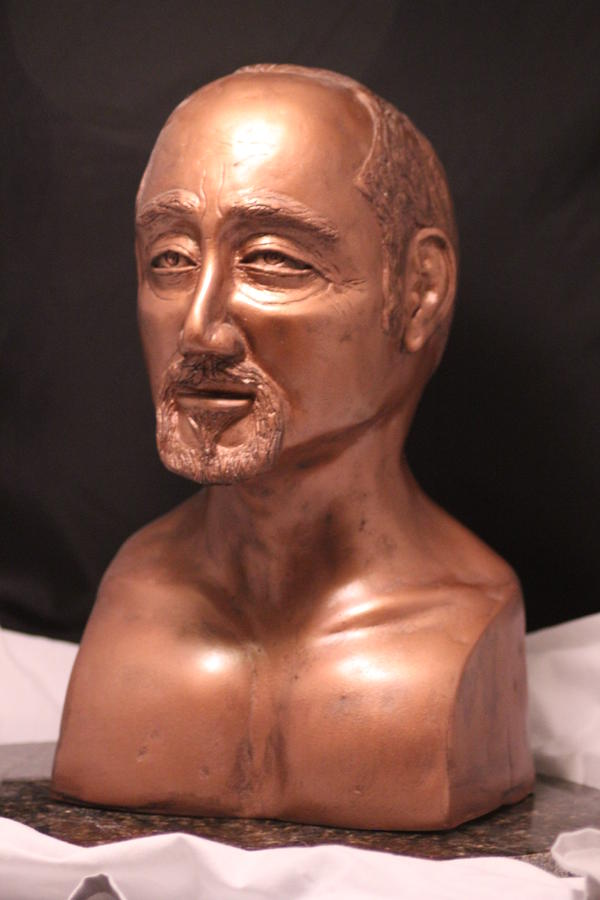 Self Portrait Sculpture  - Self Portrait Fine Art Print