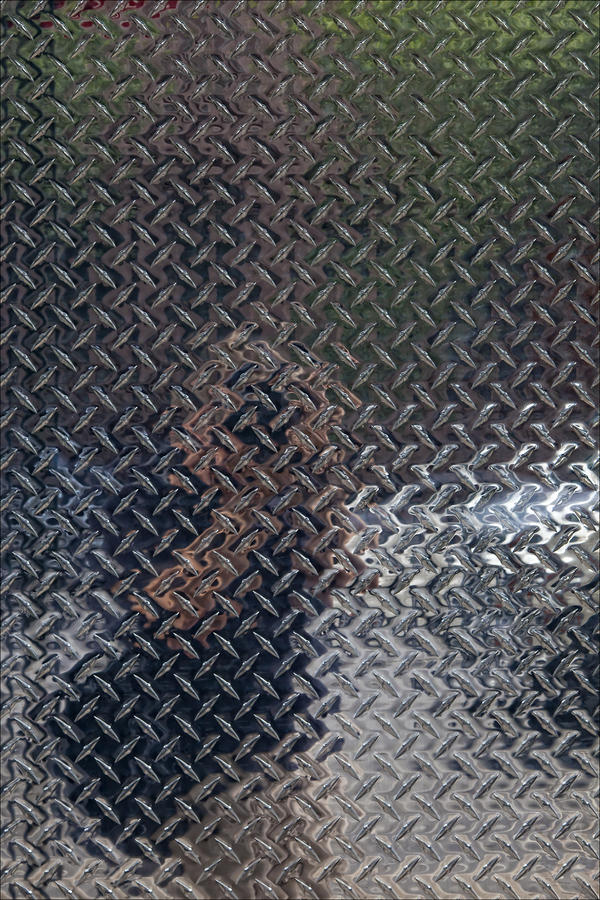 Self Portrait In Steel Photograph