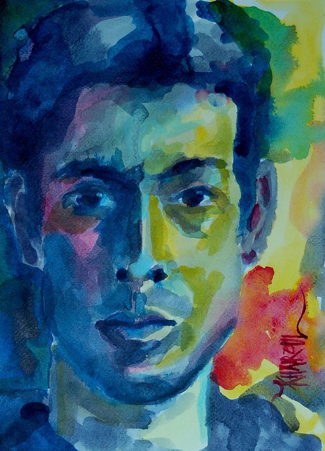 Portrait Painting In Oil Colours