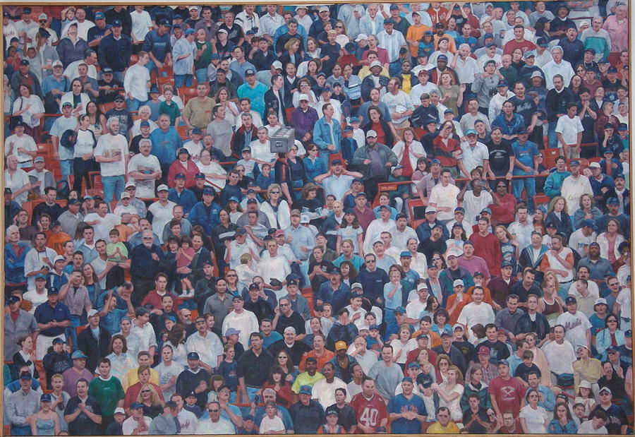 Sell-out Crowd Painting