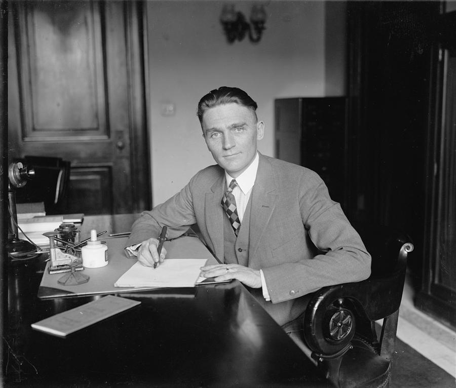 Senator Gerald P. Nye 1892�1971 U.s Photograph