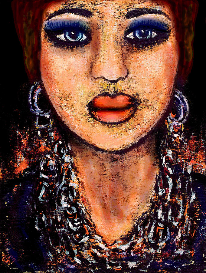 Senorita Mixed Media  - Senorita Fine Art Print