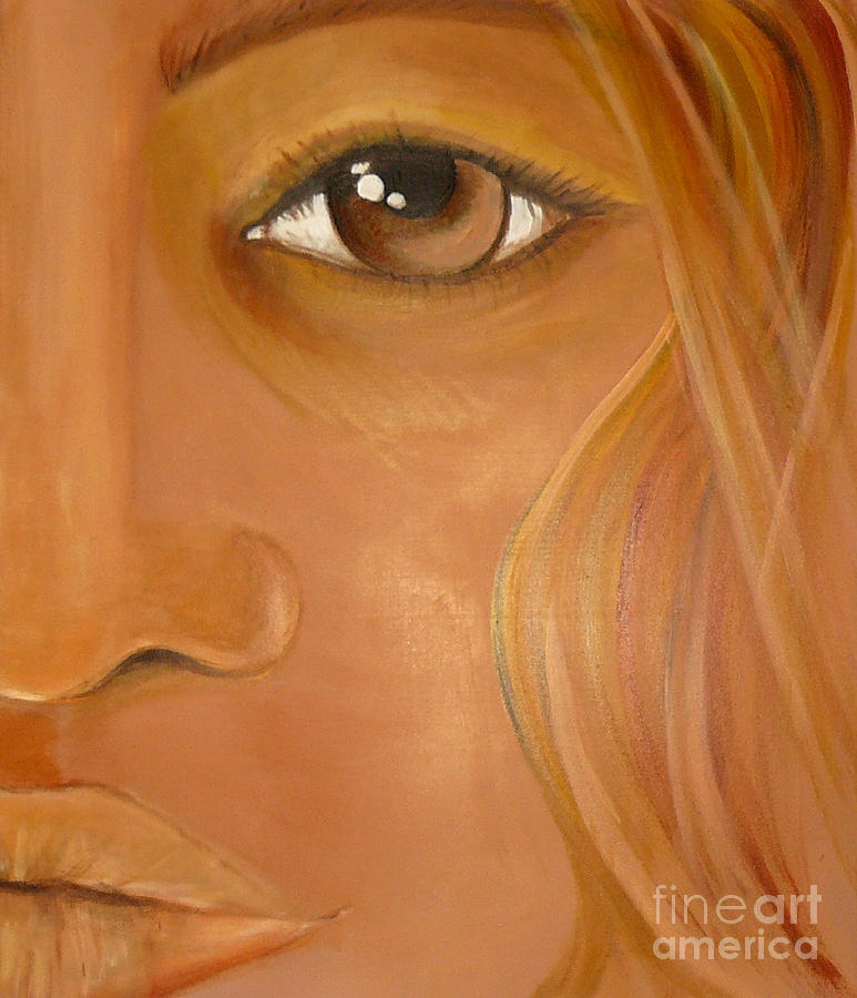 Sensual Lady Painting