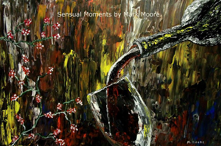 Sensual Moments By Mark Moore Painting  - Sensual Moments By Mark Moore Fine Art Print