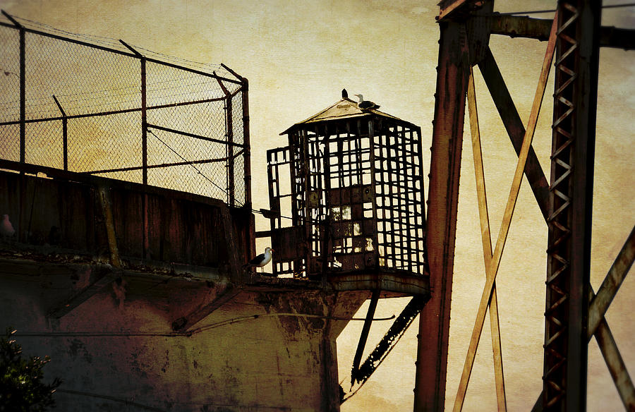 Alcatraz Photograph - Sentry Box In Alcatraz by RicardMN Photography