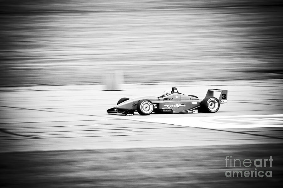 Sepia Racing Photograph  - Sepia Racing Fine Art Print