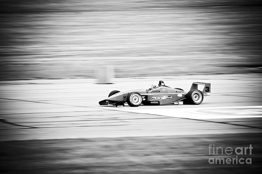 Sepia Racing Photograph