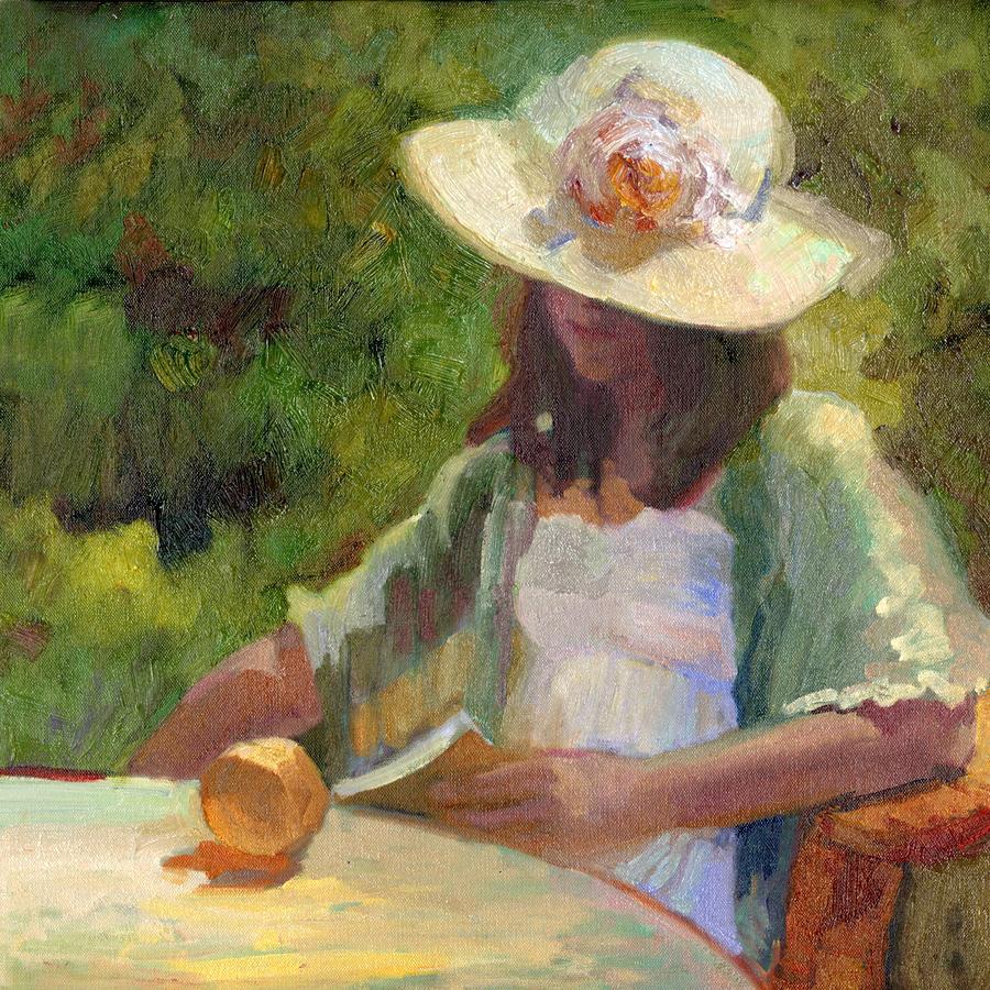 September Garden  Painting