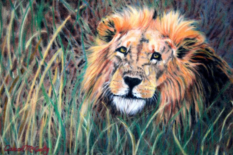 Serengeti Ruler Painting  - Serengeti Ruler Fine Art Print