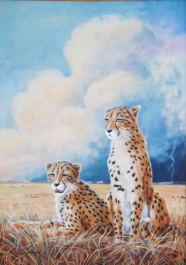 Serengeti Strikes Painting