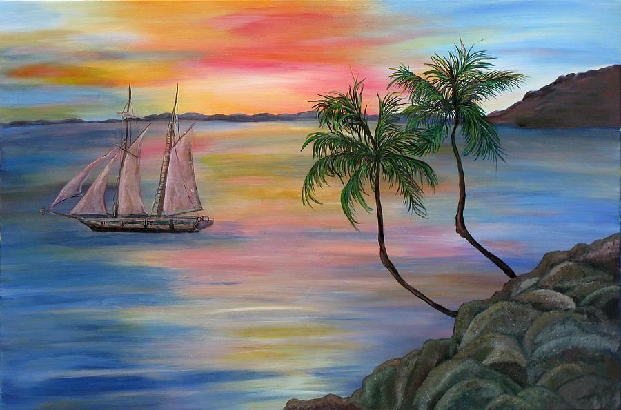 Serenity Bay Painting