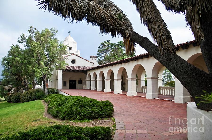 Serra Museum Historical Landmark Presidio Park San Diego