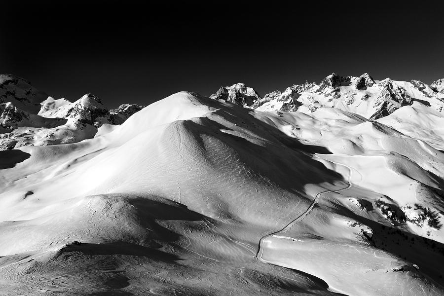 Serre Chevalier In The French Alps Photograph