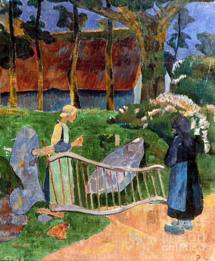 Serusier: Barriere, 1889 Photograph  - Serusier: Barriere, 1889 Fine Art Print