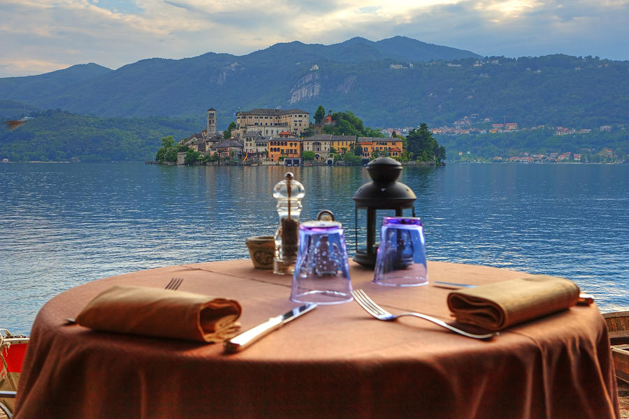 Table Photograph - Set Table With A View by Joana Kruse