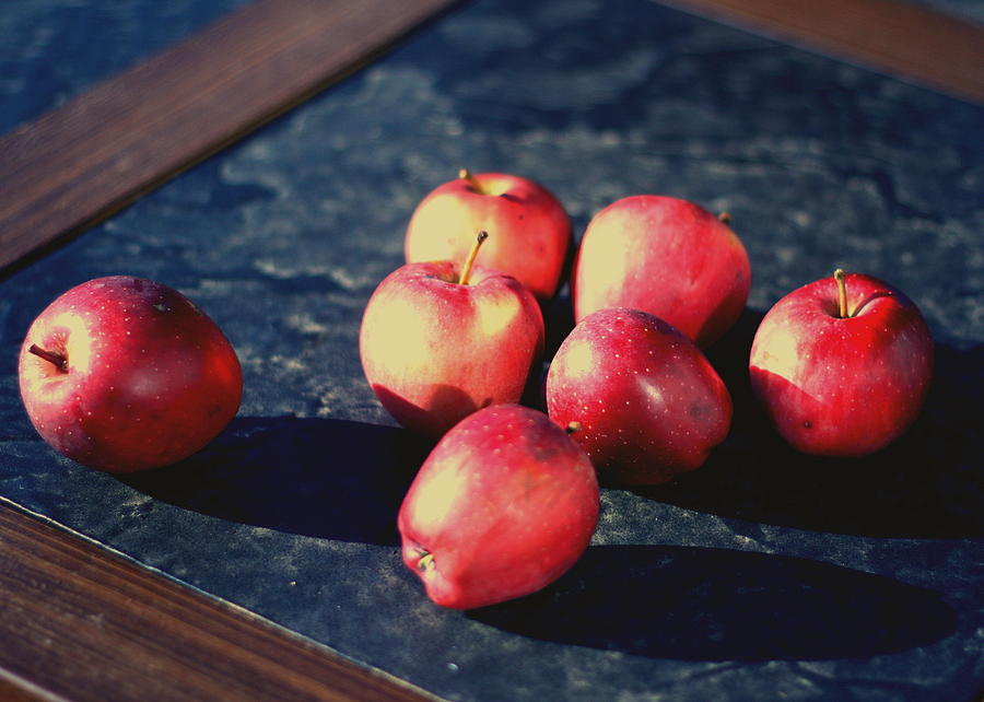 Seven Apples Photograph