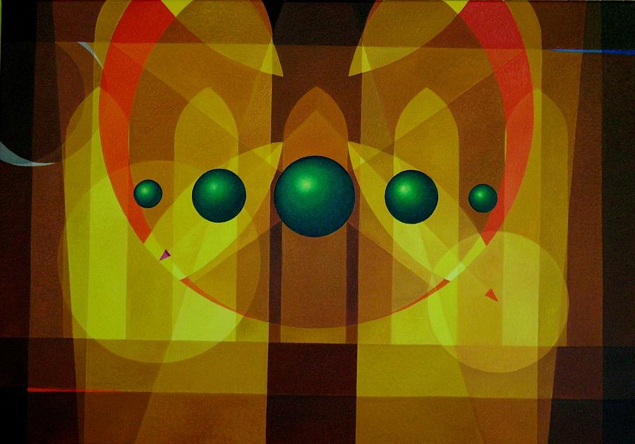 Seven Windows - 3 Painting