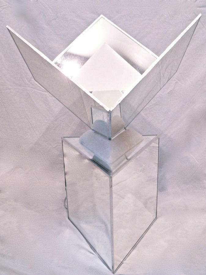 Seventh Chakra Sahasrara Crown Front View Sculpture  - Seventh Chakra Sahasrara Crown Front View Fine Art Print