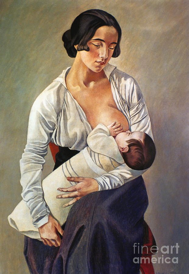 Severini: Maternity, 1916 Photograph
