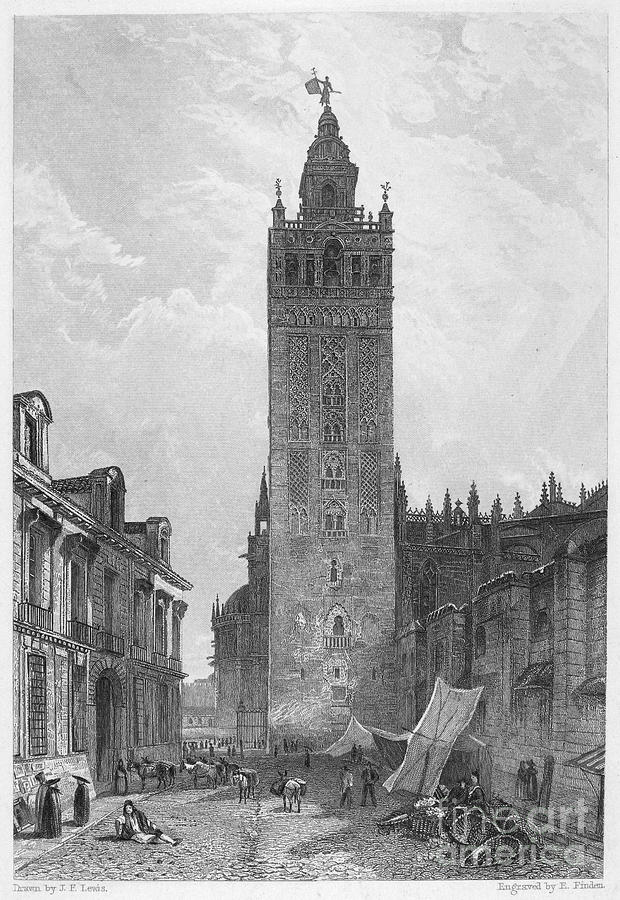 Seville: The Giralda Photograph  - Seville: The Giralda Fine Art Print