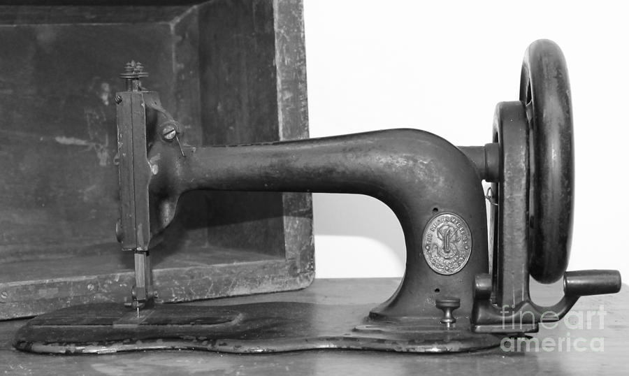 Sewing Machine Photograph  - Sewing Machine Fine Art Print