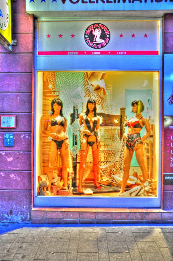 Hamburg Digital Art - Sexy by Barry R Jones Jr