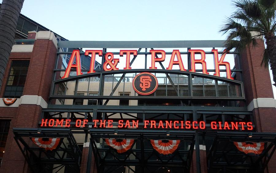 Sf Giants Stadium Photograph