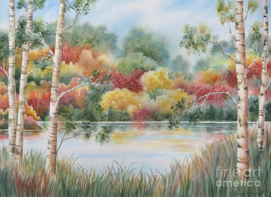Shades Of Autumn Painting
