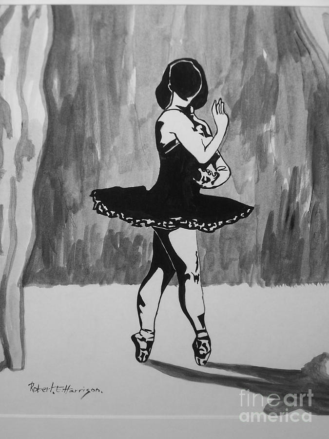 Shadow Dancer Mixed Media