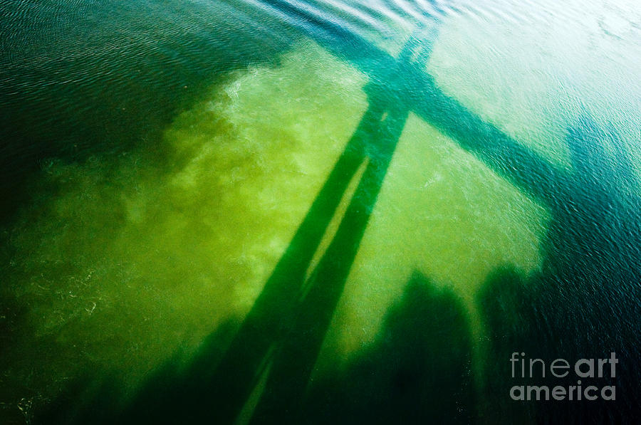 Shadow On The Waters Photograph  - Shadow On The Waters Fine Art Print