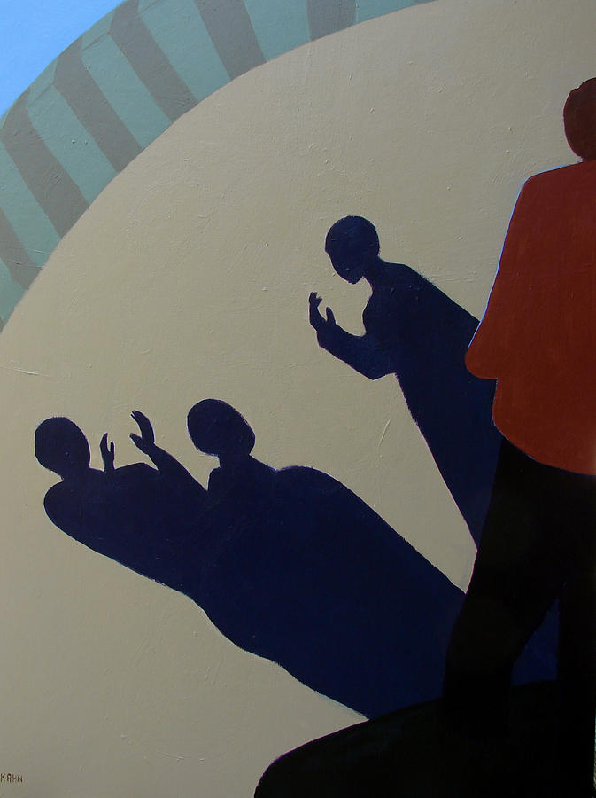 Shadow Talk Painting