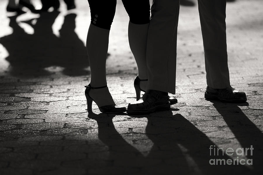 Shadows Of Tango Photograph  - Shadows Of Tango Fine Art Print