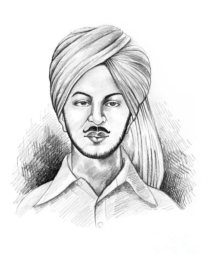 bhagat singh sketch wallpaper - photo #3