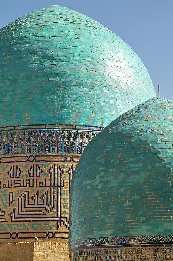 Shahr I Zindah Mausoleum, Samarkand, Uzbekistan Photograph