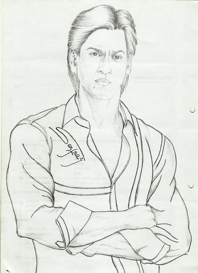 sharukh khan coloring pages - photo#3