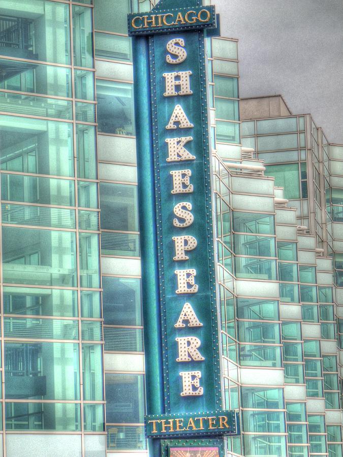 Shakespeare Theater Digital Art