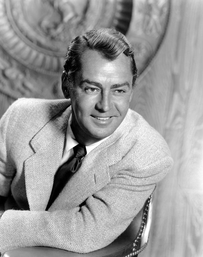 1950s Portraits Photograph - Shane, Alan Ladd, 1953 by Everett
