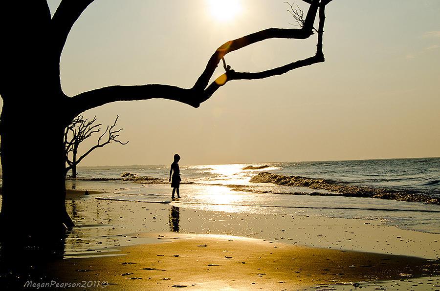 Botany Bay Photograph - Sharing The Sunrise by Megan Pearson
