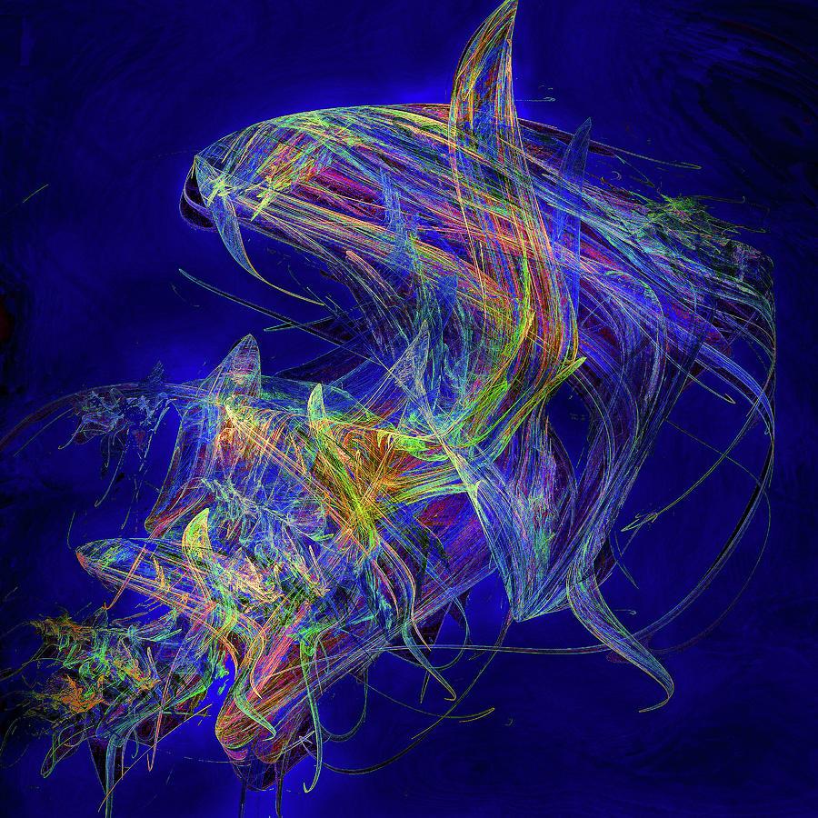 Shark Beauty Digital Art